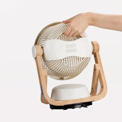 집드리 엔틱 우드 써큘레이터 선풍기 (간편세척)