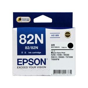 엡손(EPSON) 잉크 C13T112170 / NO.82N / 검정 / Stylus Photo R290,R390,RX590,RX610,RX690,T50,TX650,TX700W,TX720WD,TX800FW,TX820FWD