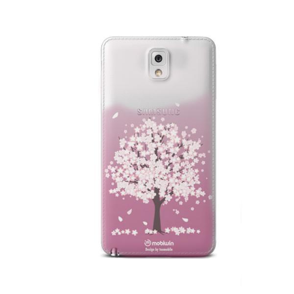 벚꽃나무 퓨어 젤리케이스(갤럭시노트3)