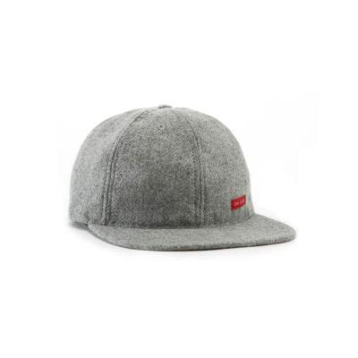 토포디자인 WOOL BALL CAP GRAY TDBC015