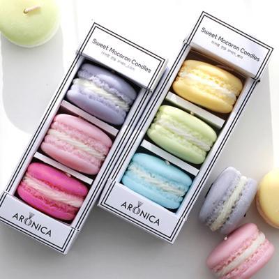 아로니카 마카롱 캔들 선물세트