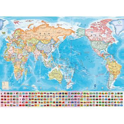 1000피스 직소퍼즐 세계 지도 HP1043