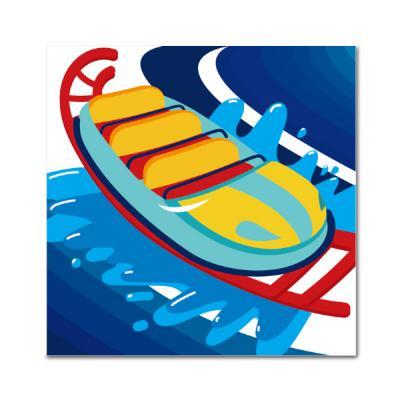 DIY 페인팅 - 워터슬라이드 PAD03 (25x25)
