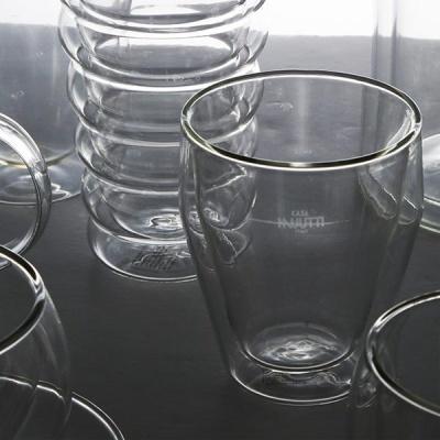 [N365] 폴리고노 내열 이중유리컵 2P세트