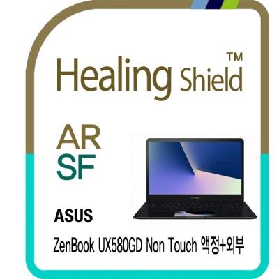 젠북 UX580GD 논터치 고화질 액정+외부3종 필름 세트