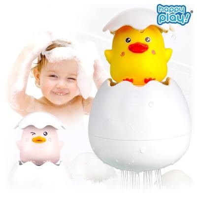 목욕놀이 에그 샤워기 유아 물놀이 장난감 오리