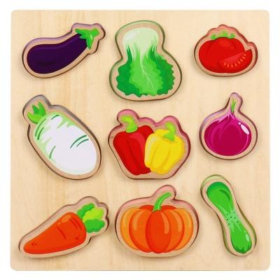 원목야채놀이블록퍼즐