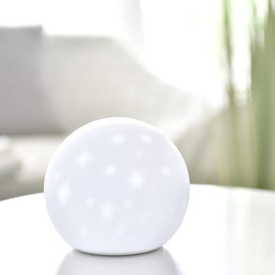 실리콘 달 충전식 LED 무드등