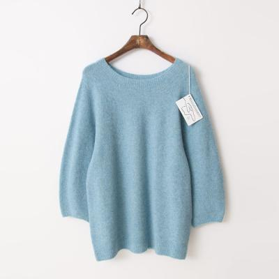 Laine Yak Wool Round Sweater - 9부소매