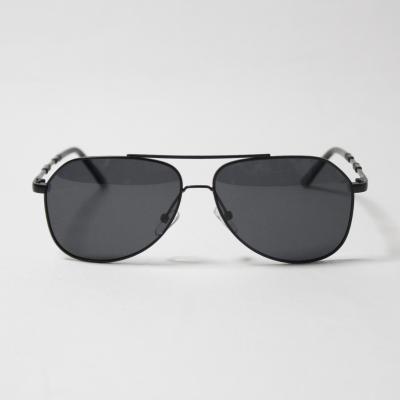 메탈 보잉 편광 선글라스 (블랙)