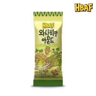 [길림양행] 와사비맛 아몬드 30g