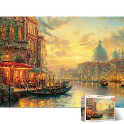 1000피스 직소퍼즐 이탈리아 베네치아 카페 PL1417
