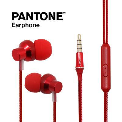 PANTONE 팬톤 유선 이어폰