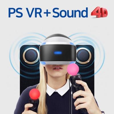PS VR 카메라 무브 세트 + Sound4D FX-1200 + VR 월드