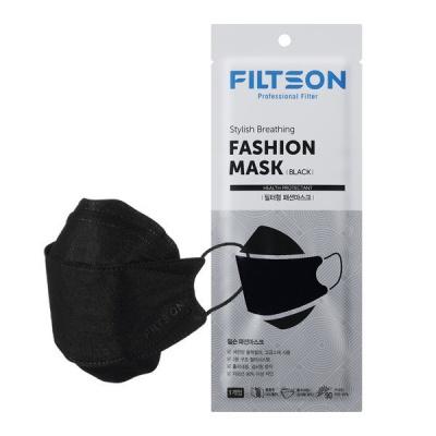 [필슨] 필터형 블랙 패션 마스크 (20매)