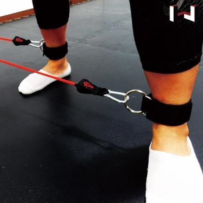 와일드브로스 발목스트랩 1쌍 튜빙밴드 힙 하체 운동