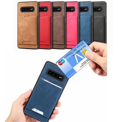 아이폰 가죽 마그네틱 포켓 카드 수납 케이스