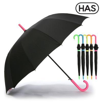 [헤즈] 12살 네온컬러 자동 장우산 HS1A1260(NEON-PK)