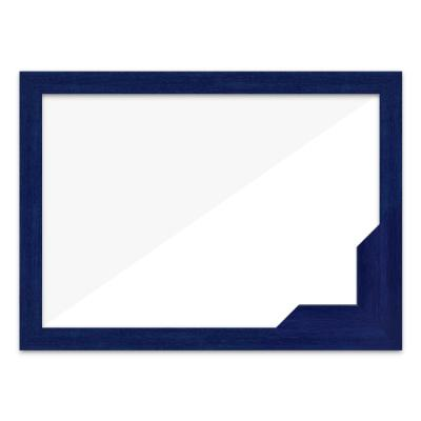 퍼즐액자 47x68 고급형 우드 블루