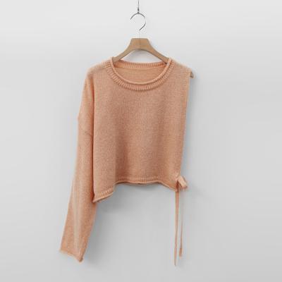 Mohair Wool Crop Sweater