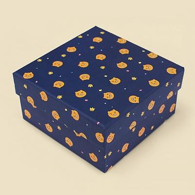 카카오프렌즈 얼굴패턴 문구형 박스