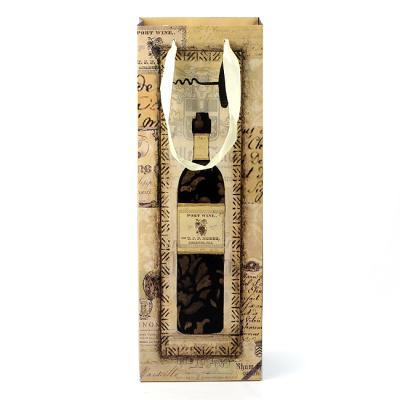 (와인앤쿡)클래식 와인 쇼핑백1개(디자인랜덤)