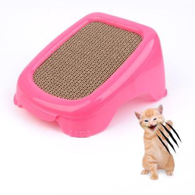 고양이 발톱관리 스크래처 1개(색상랜덤)
