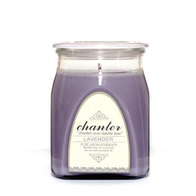 [샹떼] 라벤더 Lavender - 자캔들 라지 430g : 소이캔들 & 우드심지