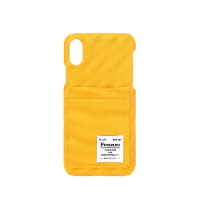 FENNEC C&S iPHONE X CASE - YELLOW