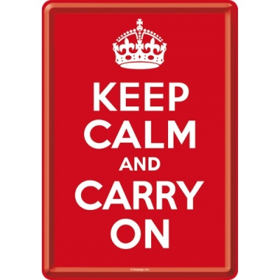 노스텔직아트[10212]Keep Calm and Carry On