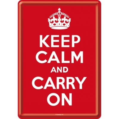 노스텔직아트[10212]Keep Calm and Carry On