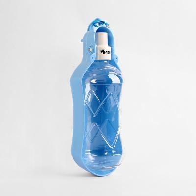 펫코코 휴대용 애견 물통(블루) (500ml)