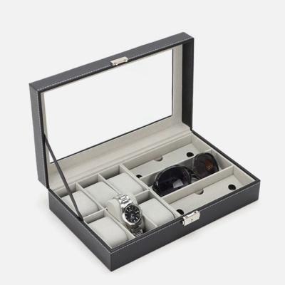쥬얼리 귀걸이 반지 네오 액세서리 시계 보관함 블랙