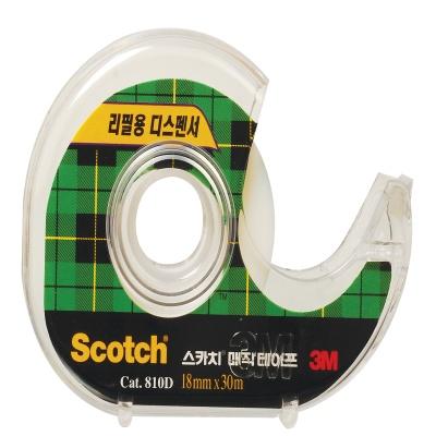 3M 스카치™ 매직 테이프 디스펜서 810D (18mmx30M)