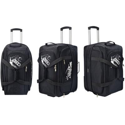 확장형 가방 기내용 여행용 소프트 캐리어 20형 블랙