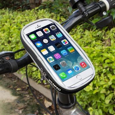 자전거 스마트폰 가방(18x10cm) (블랙)/ 휴대폰거치대