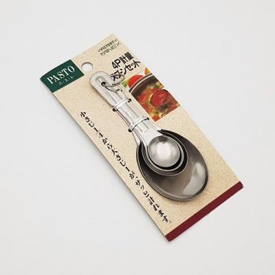 일본 미넥스 계량스푼 세트 4p