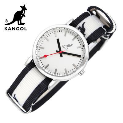 [KANGOL] 캉골시계 나토밴드시계  KG11032_3 BWB LOGO