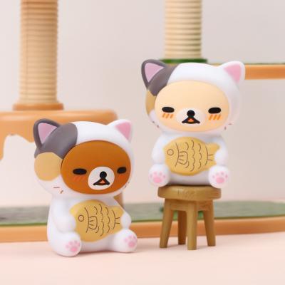 리락쿠마 랜덤피규어2 게으른 고양이 (랜덤)