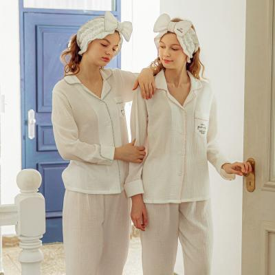 Angel 포켓 레터링 여름 투피스 잠옷세트