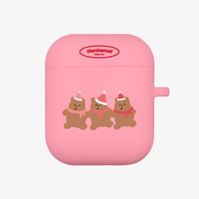 beanie gummy 에어팟 케이스 [pink]