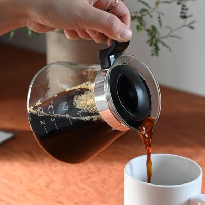 디오엠오 유리 커피서버 드립서버 600ml