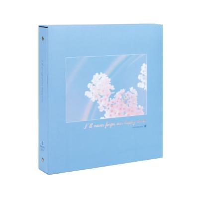 27000 4R 접착앨범(20매/무지개꽃)