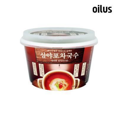 [오일러스] 심야포차국수 얼큰한맛