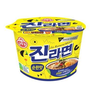 오뚜기[오뚜기] 진라면_순한맛_용기 110G