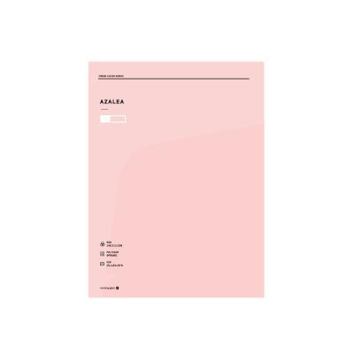 2000 테마컬러 도톰한 투포켓화일(핑크)