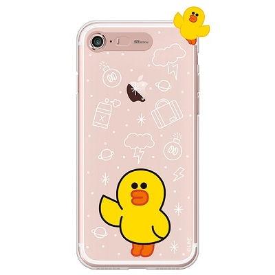 [SG DESIGN] iPHONE7 8라인프렌즈 샐리 LIGHT UP Cas
