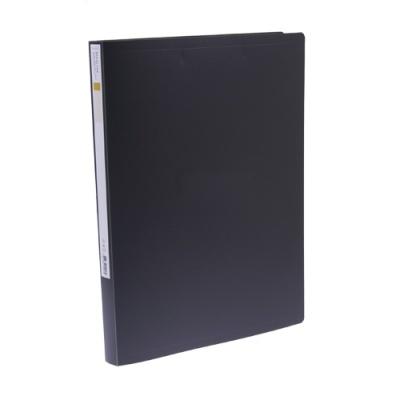 [문화산업] PP스프링화일(좌철)F401-7 흑색 [개1] 77745
