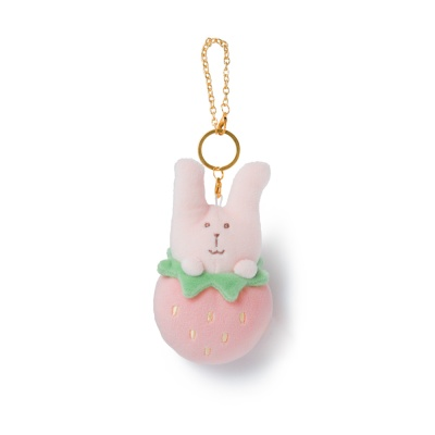 크래프트홀릭 STRAWBERRY RAB KEY RING