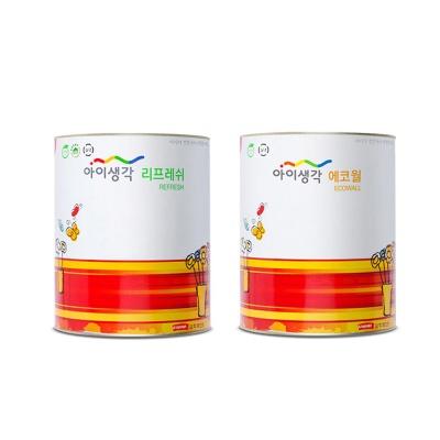 유해물질 흡수 아이생각 리프레쉬 에코월 수성 페인트